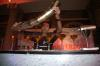 Me Pouring de Martini's - this was de competion organized by de bacardi martini n is de biggest competetion held in india