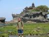 bali indonessia - Great temple in the coastal area of the pacific in Bali indonessia